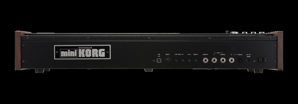 Fotos del nuevo Korg miniKORG 700FS
